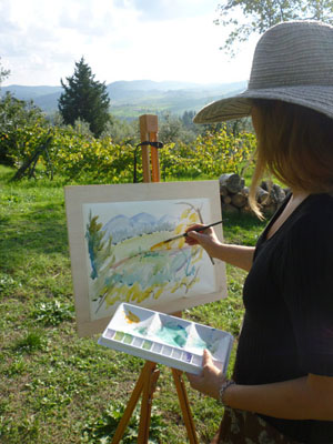 Art Holidays and Painting Lessons 2019