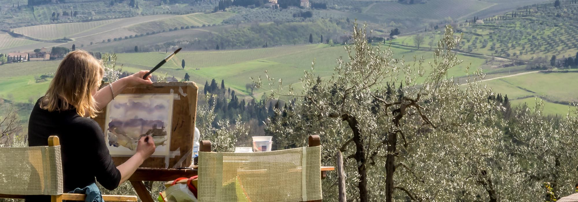 Experience food & wine, art, yoga and more in Tuscany